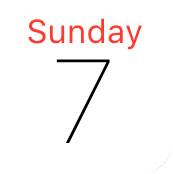 iOS Calendar icon