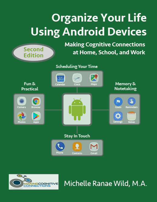 Organize Your Life Using Android Devices, 2nd edition, book cover